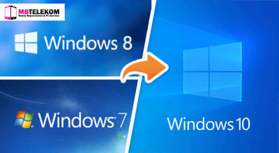 Upgrade Windows 7 to Windows 10 MB-TeleKom